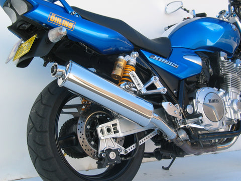 Yamaha XJR 1300 Oval Sports Muffler 2007 on.