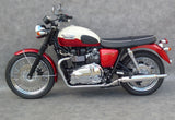 Triumph Bonneville replica sports mufflers