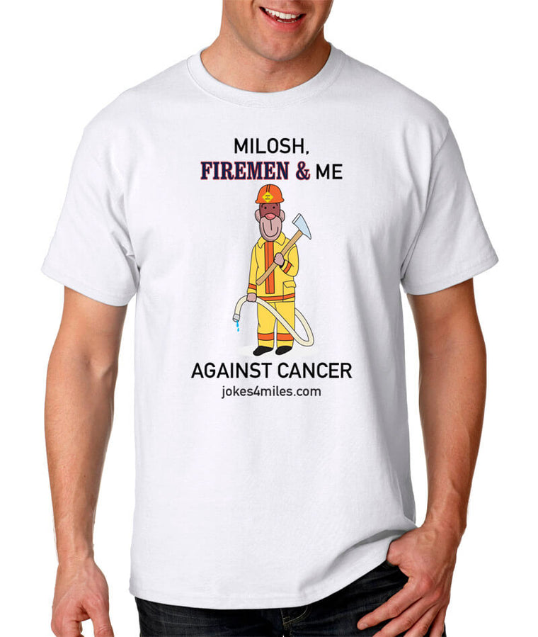 Milosh, Firemen & Me Against Cancer