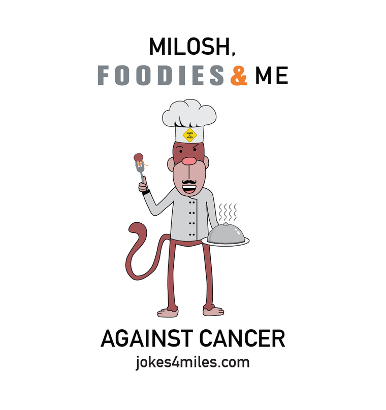 Milosh, Foodies & Me Against Cancer