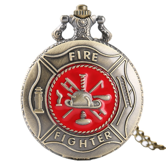 Firefighter Men's Pocket Watches