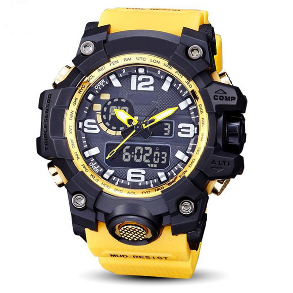 Men's Waterproof Divier's Extreme Sports Multi-Colored Outdoor Watch