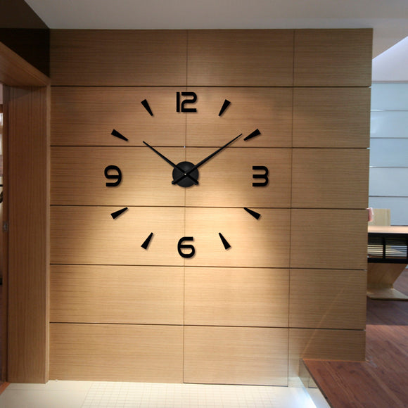Very Modern Large Wall Clock, artful and gorgeous