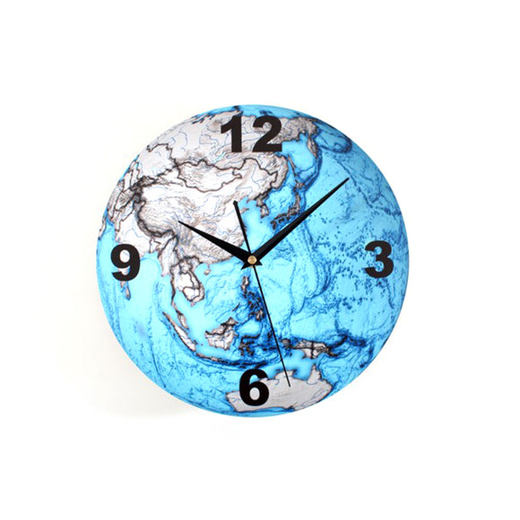 Cool 3D Earth Shaped Wall Clock