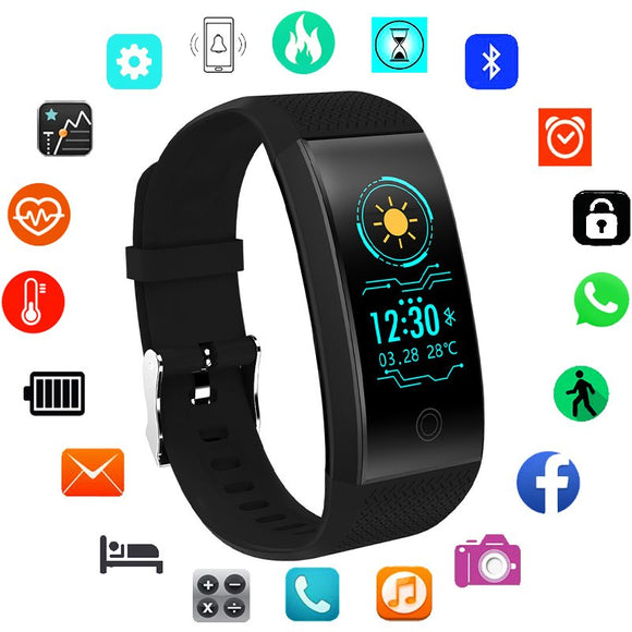 Women's Sport Digital Smart Watch For Android IOS