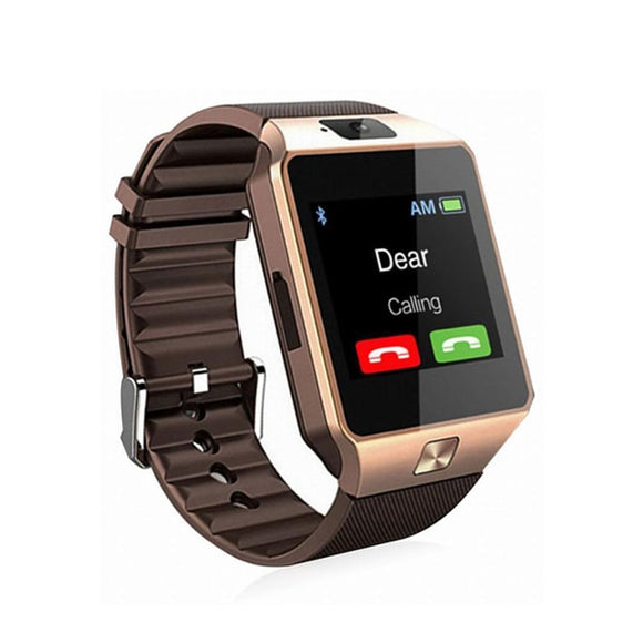 Bluetooth Smartwatch Android Phone Call 2G GSM SIM TF Card Camera for iPhone