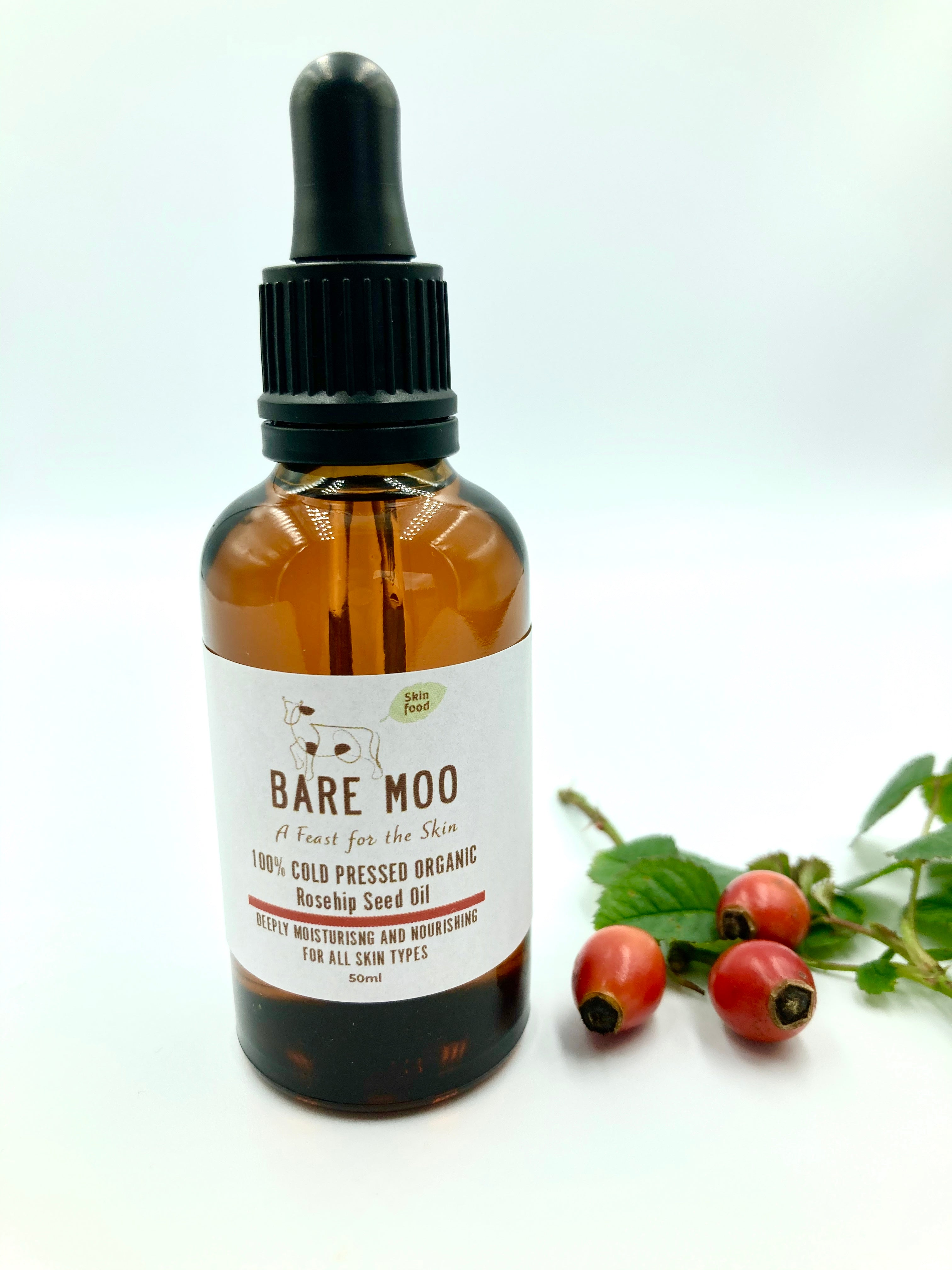 Cold Pressed Organic Rosehip Seed Oil
