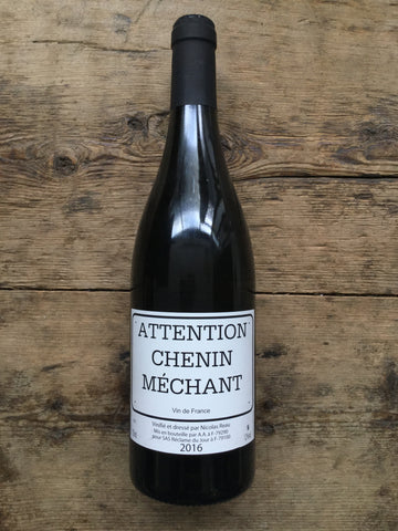 Attention Chenin Mechant 2016, Domaine Nicolas Reau, Loire, France