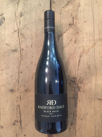Black Rock Red 2015, Radford Dale, Stellenbosch, South Africa