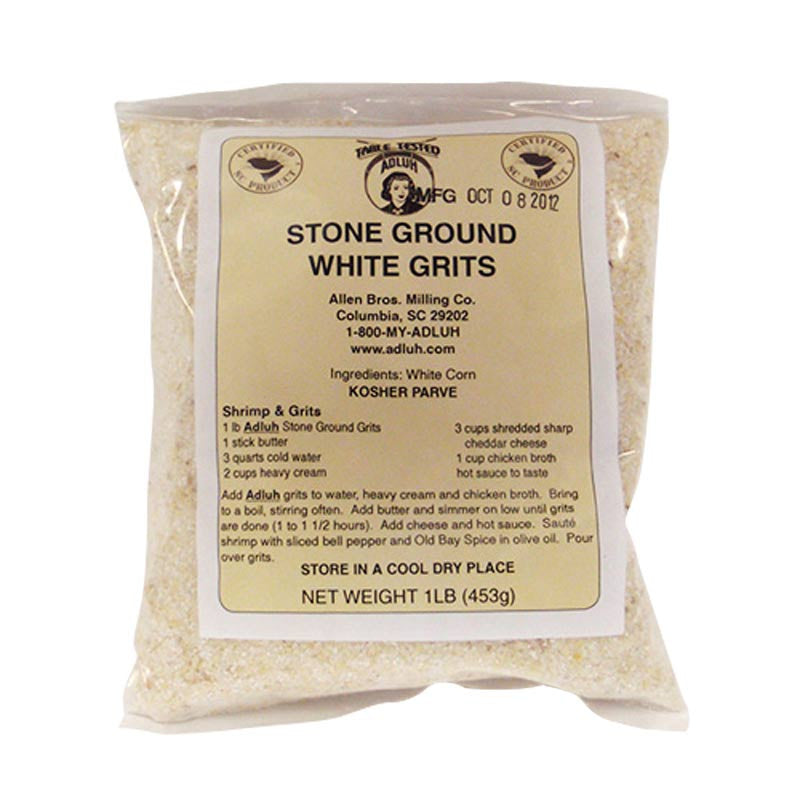 Adluh Stone Ground White Grits