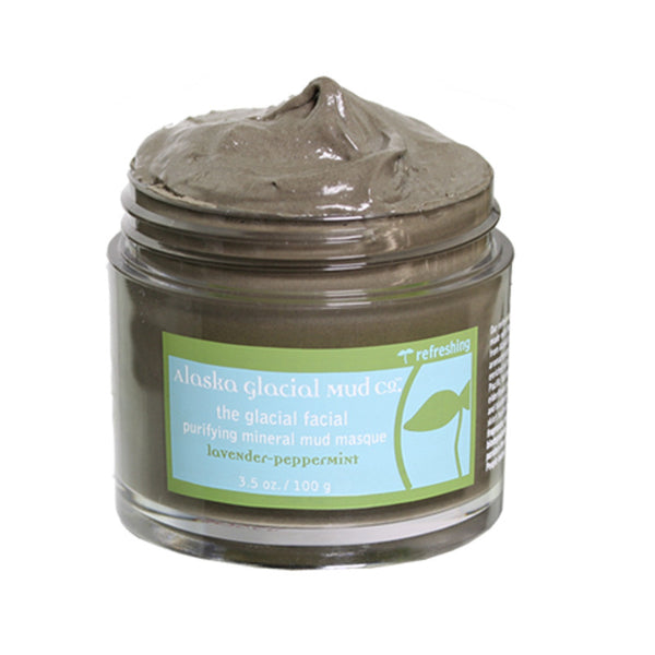 Alaska Glacial Mud Purifying Mineral Mud Masque