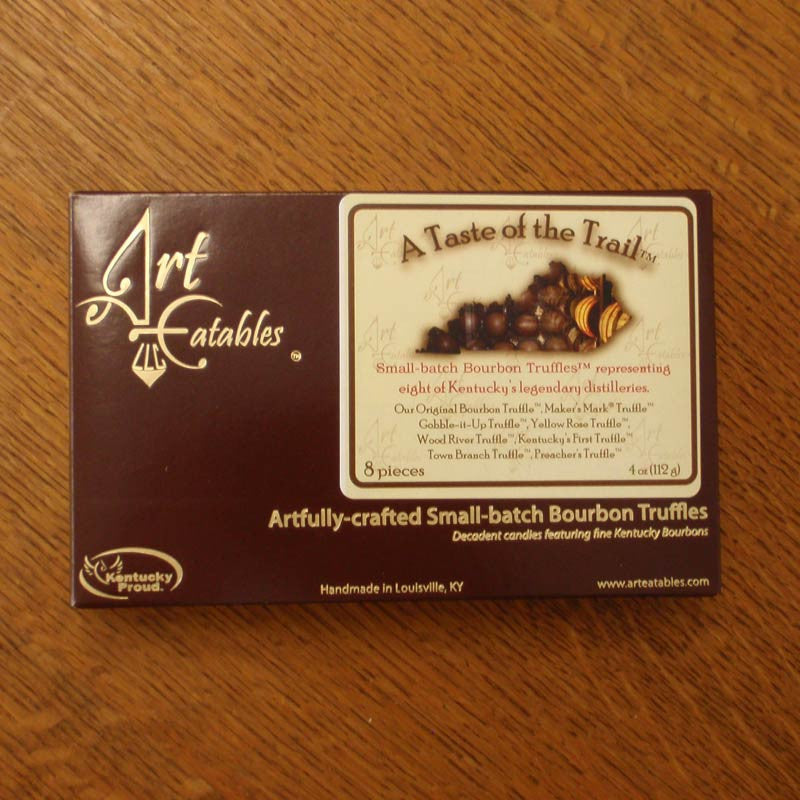 Art Eatables - A Taste of The Trail Bourbon Truffles