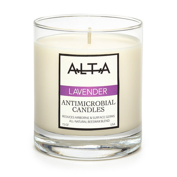 ALTA Antimicrobial Candle - Lavender