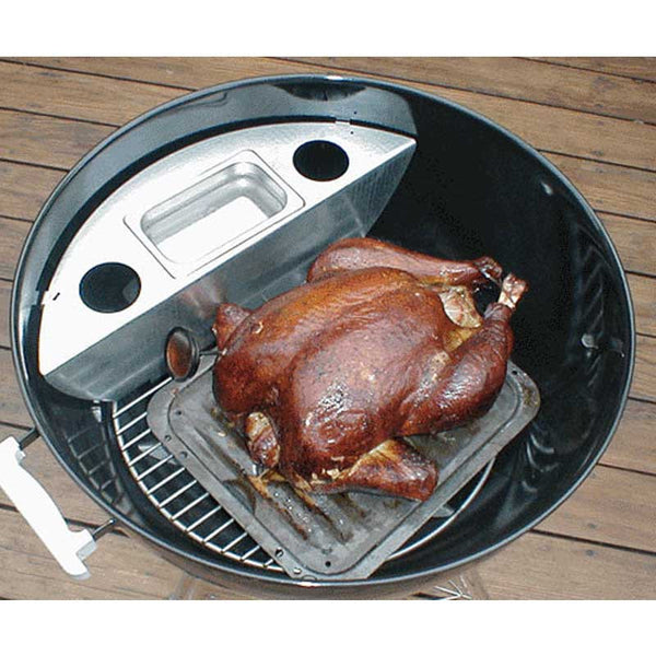 Smokenator Convert Kettle Grill To Smoker Wishbox