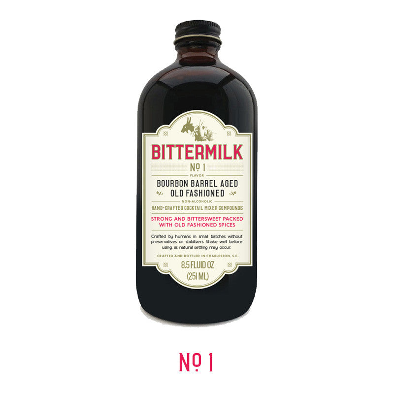 Bittermilk #1 - Bourbon Barrel Aged Old Fashioned