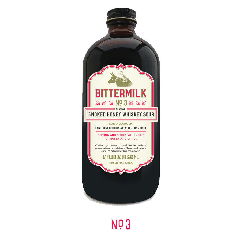 Bittermilk #3 - Smoked Honey Whiskey Sour