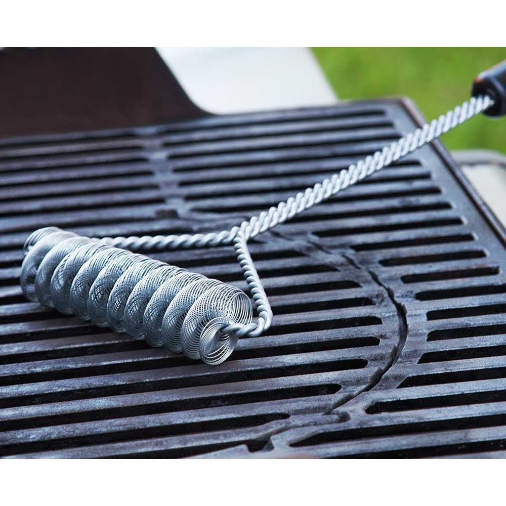Double Helix Grill Brush, 16""