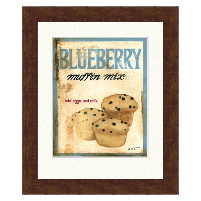Framed Blueberry Muffin Mix