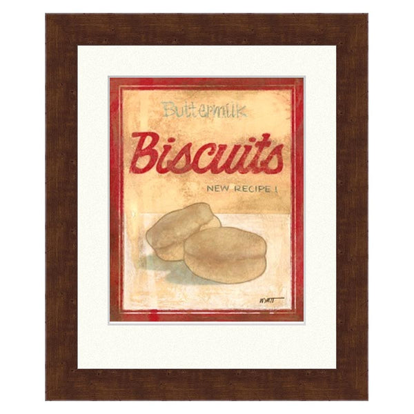 Framed Buttermilk Biscuits