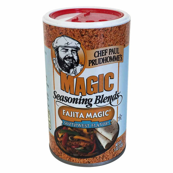 Chef Paul Prudhomme's Fajita Magic Seasoning, 142g