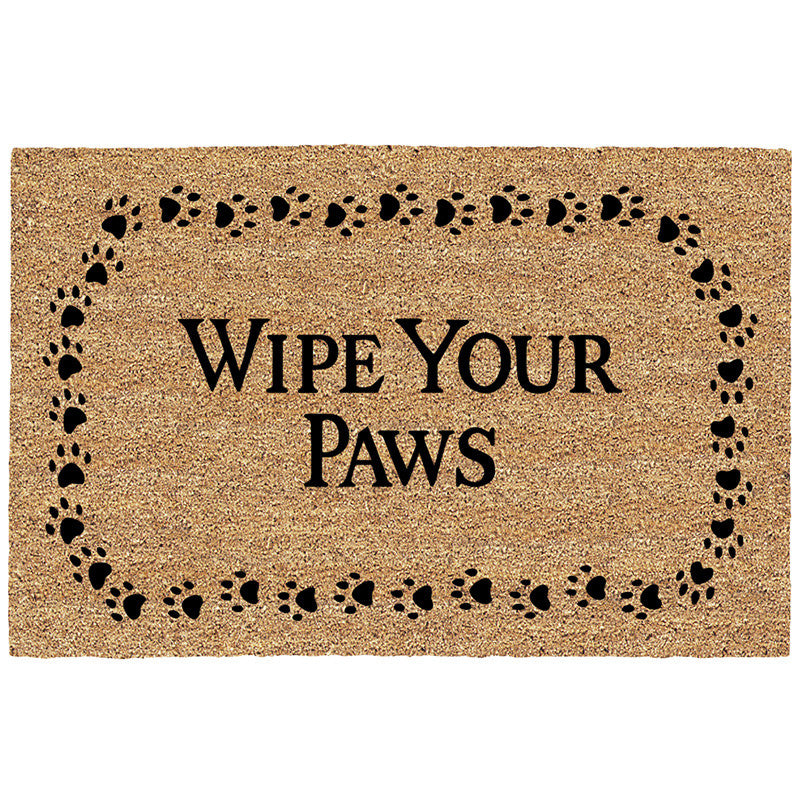 DeCoir Door Mat - Wipe Your Paws