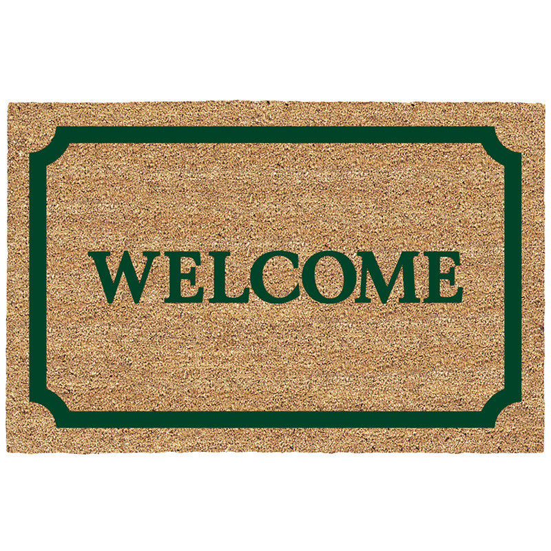 DeCoir Door Mat - Bordered Welcome