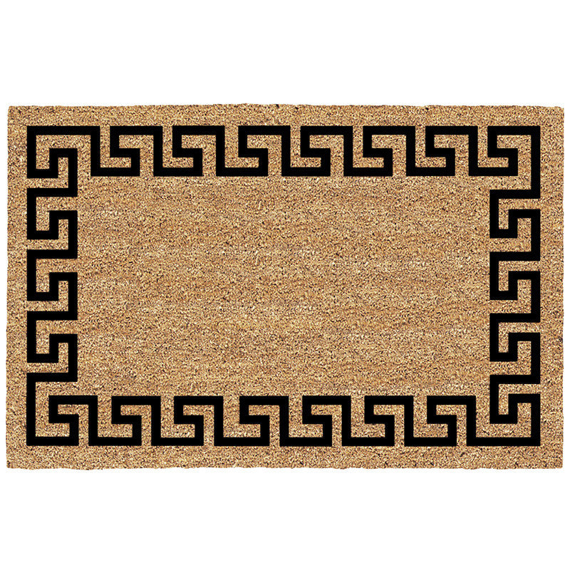 DeCoir Door Mat - Greek Key