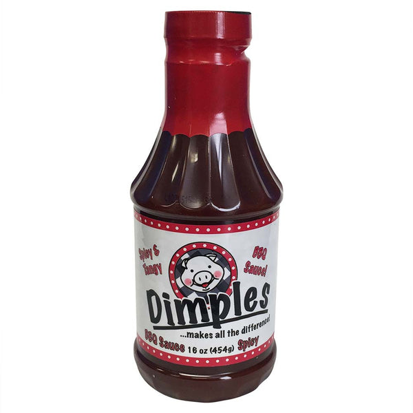 Dimples - Spicy & Tangy BBQ Sauce