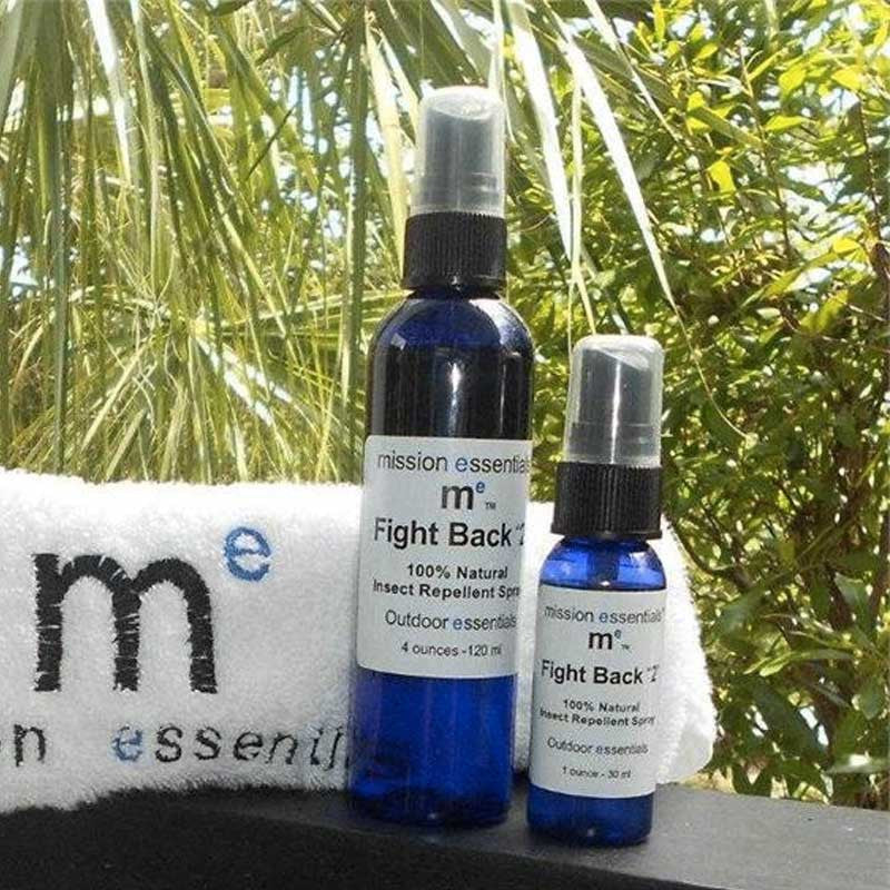 "Mission Essentials FIGHT BACK ""2"" Natural Bug Repellent, 1oz"