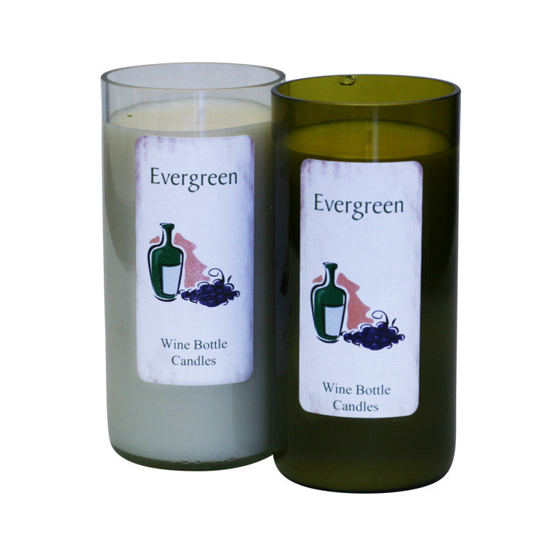 Evergreen Candles