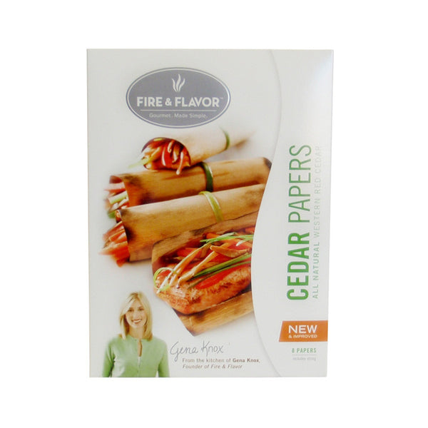 Cedar Grilling Papers