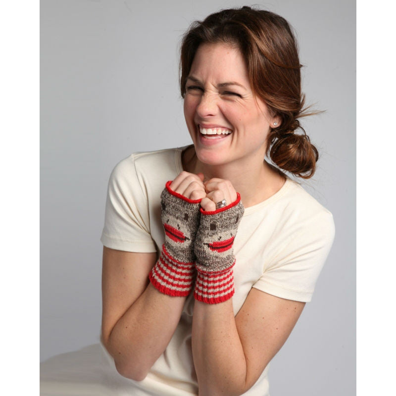 Sock Monkey Handwarmers