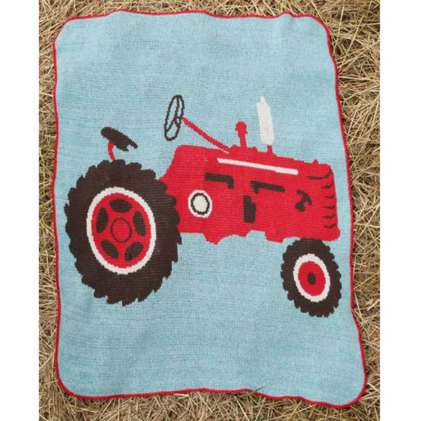 Junior Throw Blanket - Tractor
