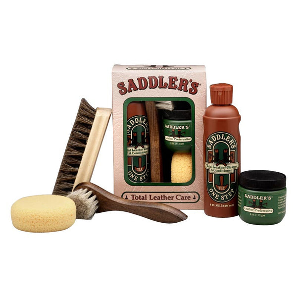 Saddler's Total Leather Care Gift Box