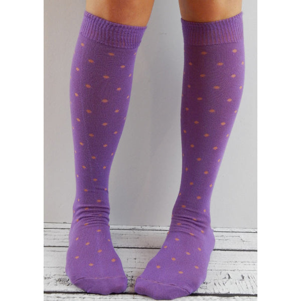 Swiss Dots - Purple