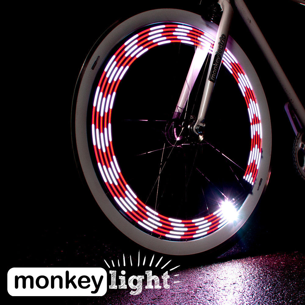 MonkeyLetric M210 - 10 LED Bike Wheel Light