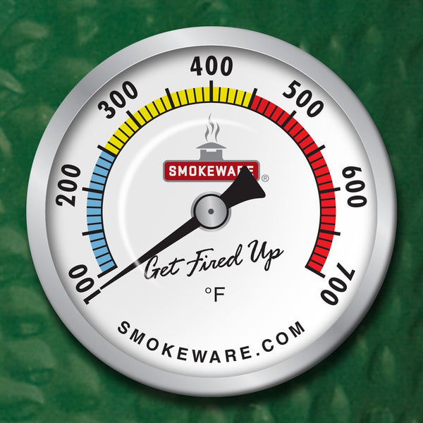 Smokeware Multi-Color Temperature Gauge (White)