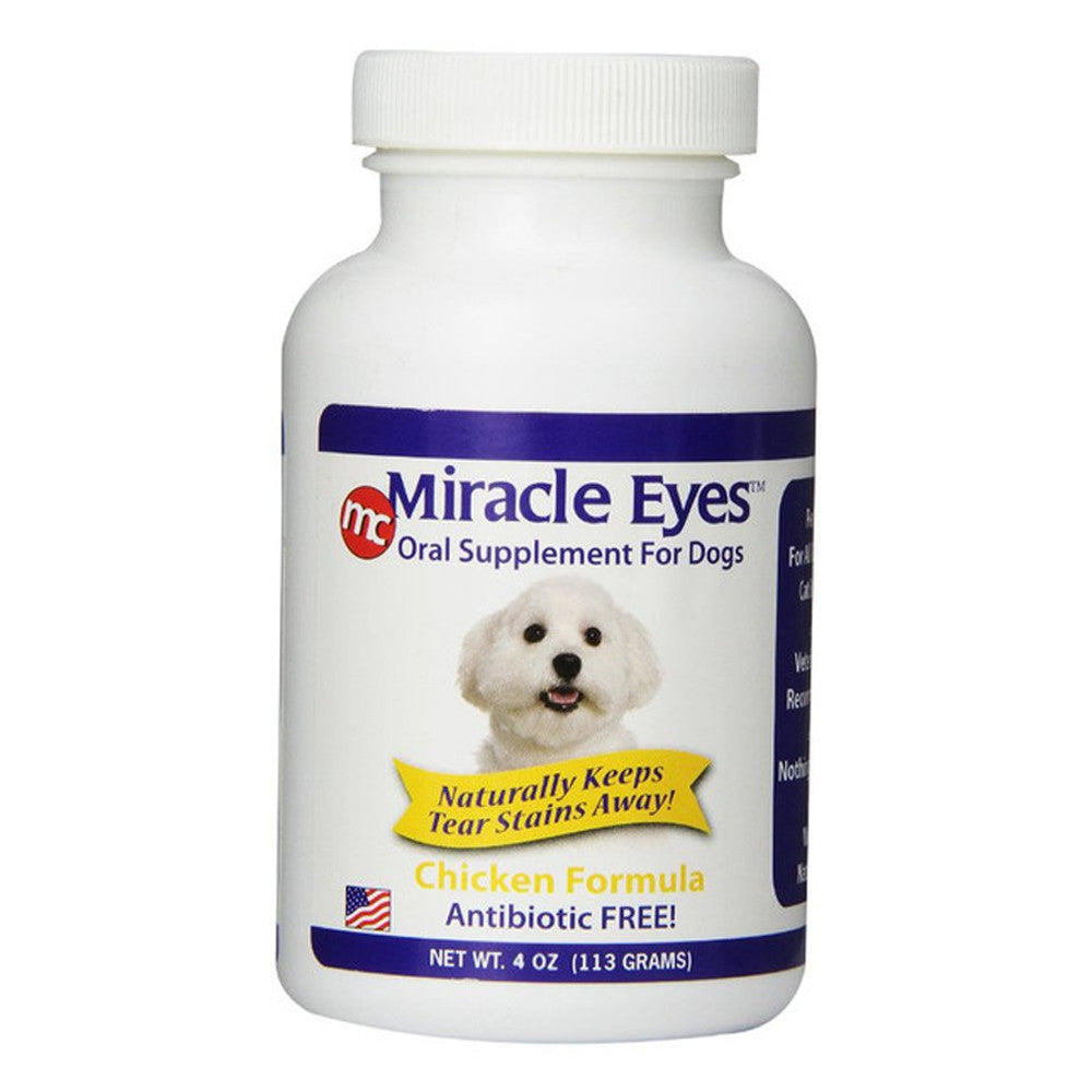 Miracle Eyes - Chicken Flavored Oral Supplement for Dogs 4oz