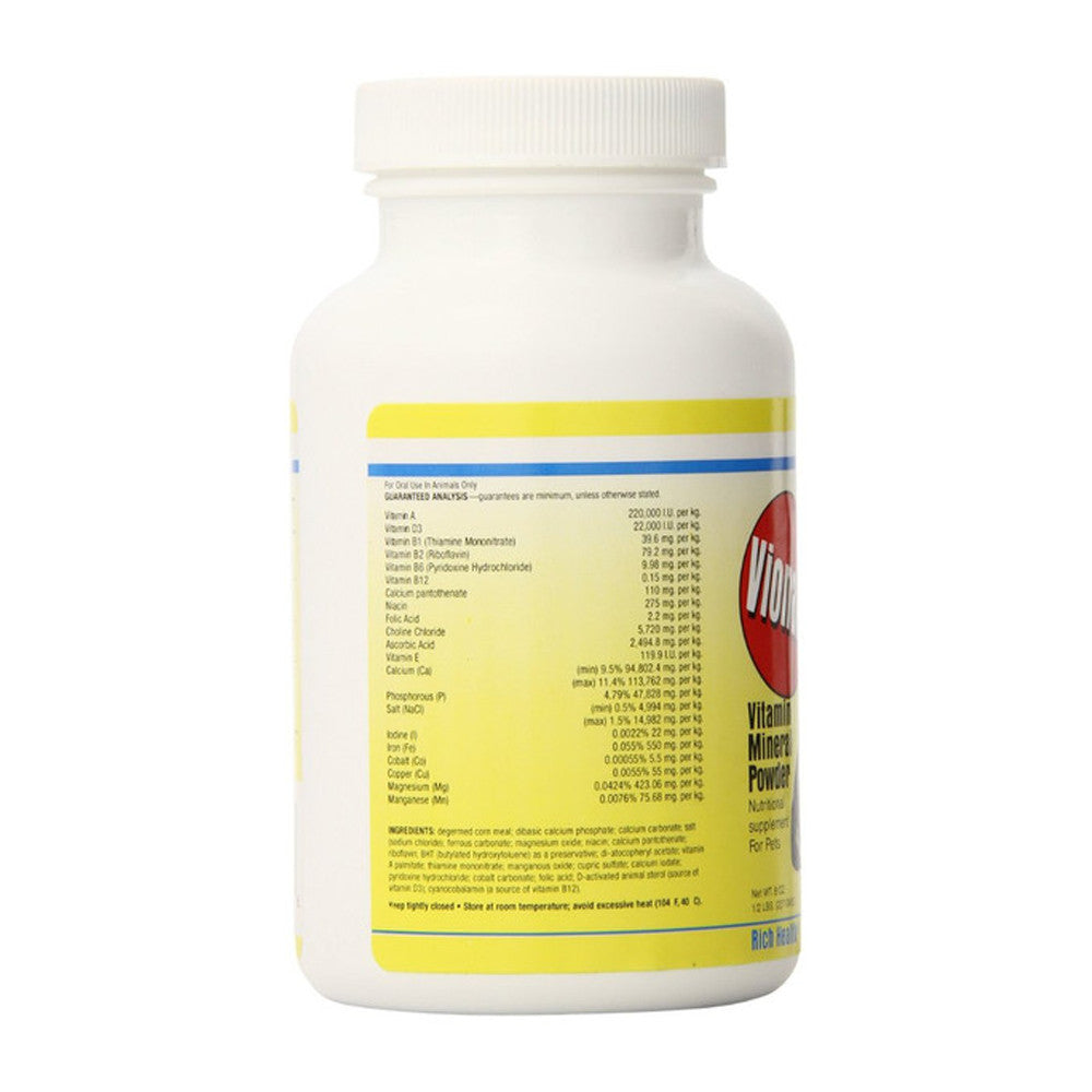 VIONATE VITAMIN RH 8 oz -Vitamin Mineral Powder