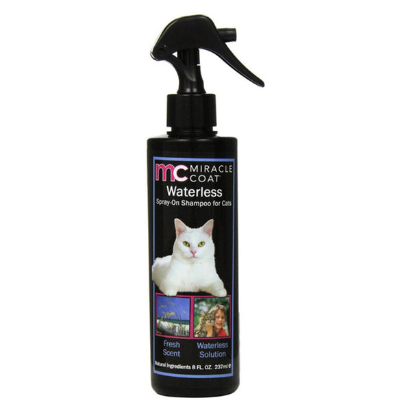 8 OZ SPRAY ON WATERLESS SHAMPOO FOR CATS