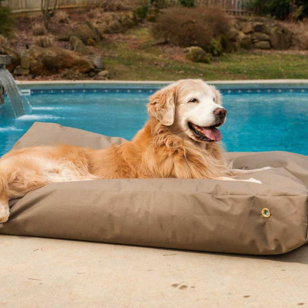 Snoozer Waterproof Rectangle Dog Bed