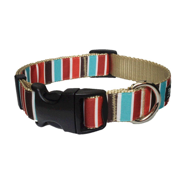 Paw Paws Dog Collar - Hula Stripe