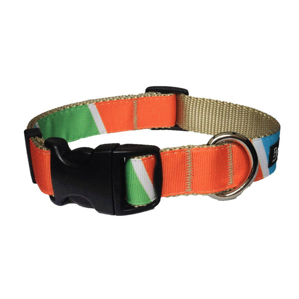 Paw Paws Dog Collar - Sunkist Horizon