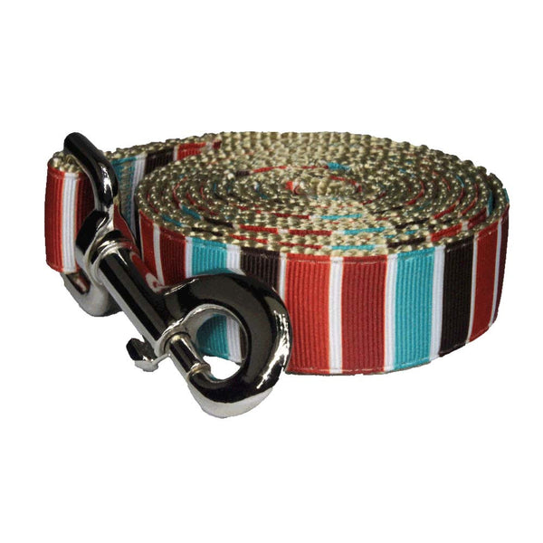 Paw Paws Dog Lead - Hula Stripe