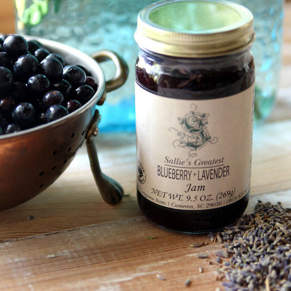Sallie's Greatest Blueberry + Lavender Jam