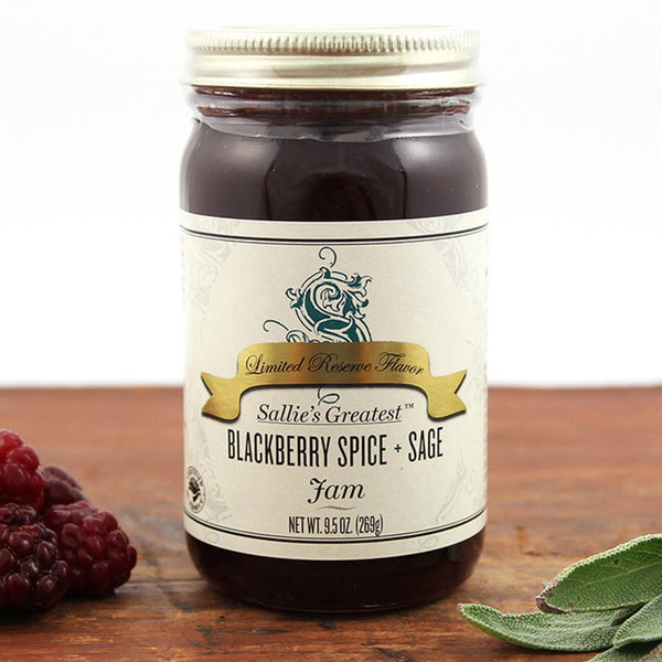 Sallie's Greatest Blackberry Spice + Sage Jam