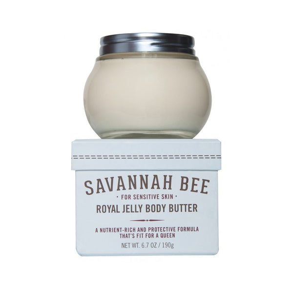 Savannah Bee Company Royal Jelly Body Butter - Sensitive Skin Formula
