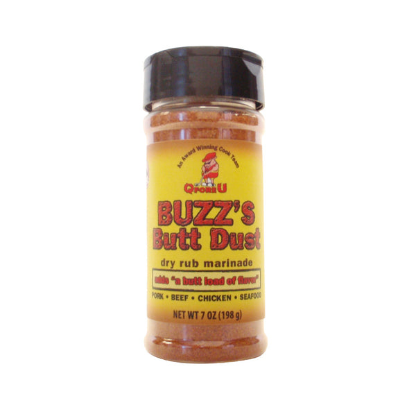 Buzz's Butt Dust - BBQ Dry Rub & Marinade