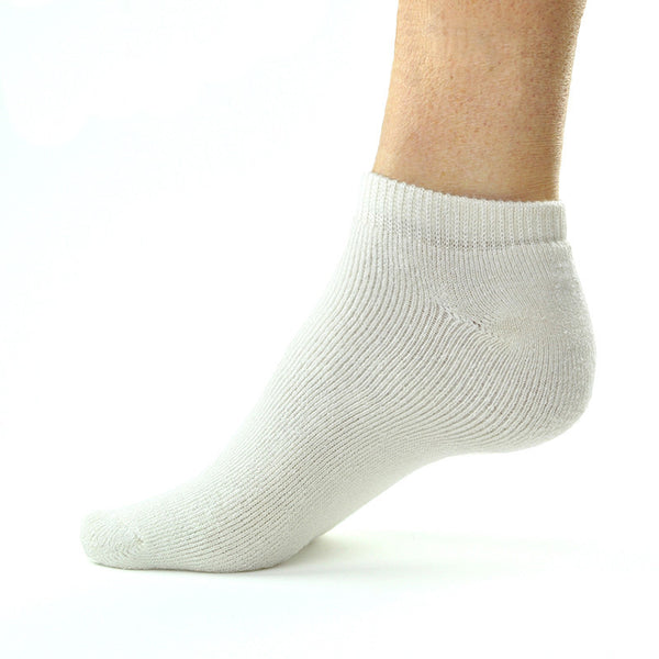 Bamboosa Ankle Socks- White
