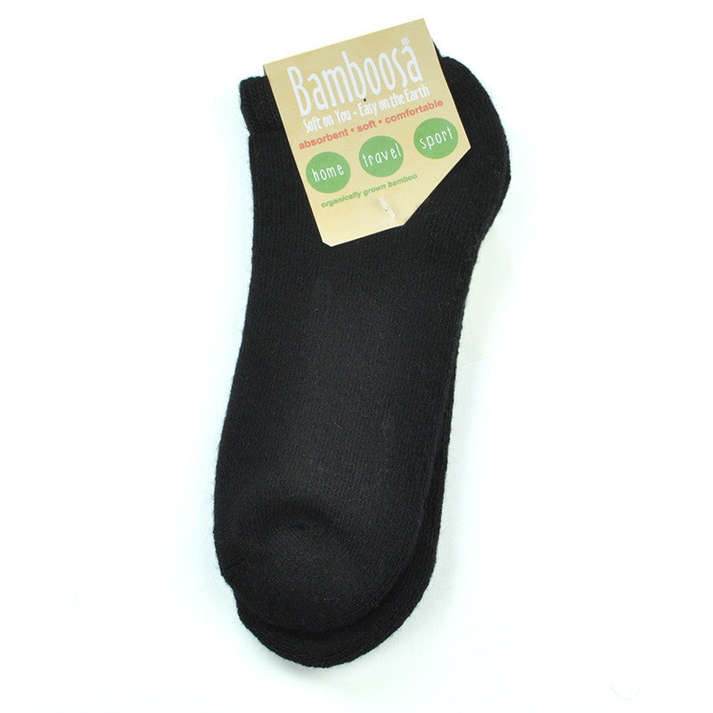 Bamboosa Ankle Socks- Black